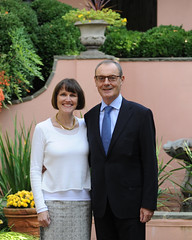 Ambassador O'Sullivan and his wife Agnes O'Hare