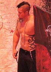 BIDS14 511 (danimaniacs) Tags: shirtless man hot sexy guy tattoo beard costume hunk jewelry pageant scruff tats bestindragshow bids14