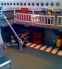 Aurora Hangar Cargo Storage (LegoSpaceGuy) Tags: brick ship lego space scifi spaceship sci starship moc classicspace
