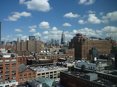 201409057 New York City Chelsea and Midtown (taigatrommelchen) Tags: city nyc newyorkcity sky usa ny newyork building skyline clouds chelsea manhattan icon explore meatpackingdistrict 20140936