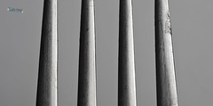 Pikes (jpearce2307) Tags: shadow lines metal point bend sharp pikes form curve shape highlight pointed