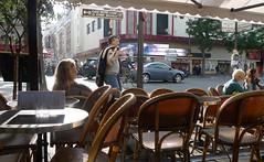 Paris - Sunny sunday afternoon (Ken-Zan) Tags: paris cafe sunny vila bonnenouvelle kenzan stolar uteservering ljunghav