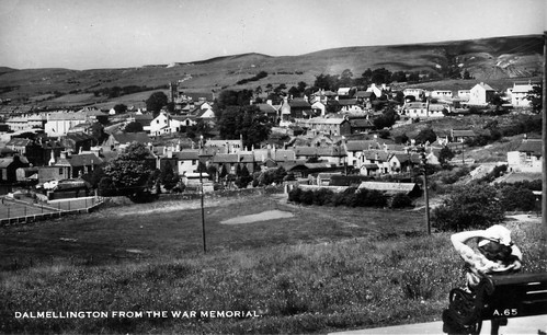 Dalmellington from the War Memorial