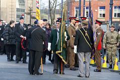 Ashton Under Lyne Remembrance Day Parade (NTG's pictures) Tags: day under royal parade british remembrance ashton standard legion bearers lyne