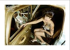 the French Touch (Emmanuel DEPARIS) Tags: usa chevrolet up car marina vintage us nikon pin garage femme creepy emmanuel modele deparis