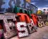 Discarded Letters in HDR (eoscatchlight) Tags: sign lasvegas nevada letters neonsign alphabet retired hdr rustyandcrusty yesteryear photomatix calnevari ofdaysgoneby neonsignmuseum