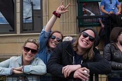 Audience @ Lukes Drug Mart Pre-Fest Party. 2015 Sled Island. (Sled Island Photo) Tags: canada calgary outdoors photo audience alberta 2015 sledisland davidkenney lukesdrugmart