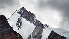 Z3 (6270m) (_Amritash_) Tags: z3 zanskar zanskarrange himalayas mountain mountainscape mountainsnap mountainpeak snowcappedmountains snowcappedpeaks snow travel travelindia travelinindianhimalayas z36270m clouds cloudy india