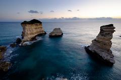 Sant'Andrea (Massimo Tolardo) Tags: otranto santandrea faraglioni salento puglia italy alba sunrise seascape paesaggiomarino mare