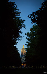 Notre Dame, Admin Building (jam1788) Tags: canon 5dmiii 5dm3 college indiana southbend goldendome admin notredamecampus notredame nd