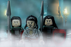 Lord's guard (max327ua) Tags: lego castle knight battle medieval kingdom lordofthering lord hobbit army legography creator build minifig minifigures minifigure art quard warrior viking photo figure photoshop toy brick history king weapon lion series