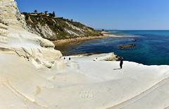 SICILE - Agrigente - Scala dei Turchi - plage (AlCapitol) Tags: sicile agrigente scaladeiturchi nikon d800 mer sea plage beach calcaire