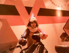 me the Halloween hairdresser (Dotsy McCurly) Tags: halloween hairdresser me costume cutting hair newyork smithtown clown scissors