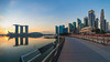 Good Morning Jubilee ... (Bernard Yeo) Tags: asia urban hyperwide jubileebridge singapore voigtlander