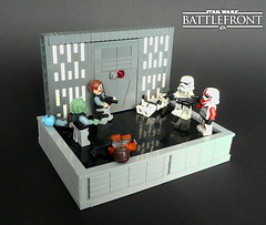 Star Wars Battlefront- Inside the Death Star (KevFett2011) Tags: kevfett2011 starwars episode iv battlefront ea multiplayer game online afol tfol 2016 death star imperial battle stormtrooper rebels floor coridor