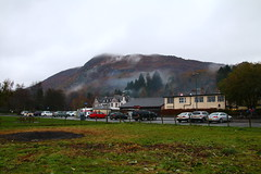 2016 - 13.11.16 Aberfoyle (14) (marie137) Tags: aberfoyle marie137 scotland mist mountain hill town water country
