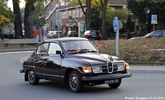 Saab 96 1978 (XBXG) Tags: dh08tr saab 96 1978 saab96 96v4 v4 overveen nederland holland netherlands paysbas vintage old classic swedish car auto automobile voiture ancienne sudoise sweden sverige zweden sude zweeds