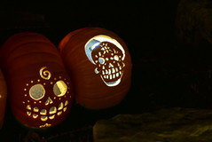 (theleakybrain) Tags: pumpkinnights pumpkin nights mnstatefair p1460111 halloween halloweenwalk minnesota jackolantern jack lantern