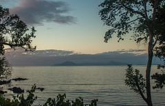 End of the day at Namasari village, Gaua island, Vanuatu (kevin2367) Tags: vanuatu gauaisland island pacific pacificisland pacifique ile ocean sunset trees lastlight light coucherdesoleil landscapephotography landcape paysage holiday namasarivillage kevin2367 instagramkevin23230 kevinfernandez nature
