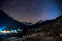 _DSC6903.jpg (sunriseOdyssey) Tags: tengboche trek adventure stars basecamp night ebc outdoor nepal hike everestbasecamp trekking