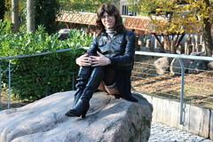 IMG_4274 (Kira Dede, please comment my photos.) Tags: kiradede kirad 2016 crossdresser copenhagen lingerie upskirt stockings zoo