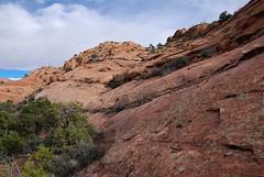 Worst part of the trek... 20160923_6053 (listorama) Tags: usa utah canyonlandsnationalpark crux friction dbnotes