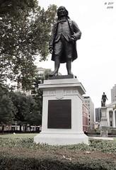 Benjamin Franklin (zeesstof) Tags: benjaminfranklin centralbusinessdistrict city crescentcity lafayettesquare louisiana neworleans park statue vacation zeesstof