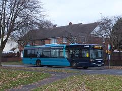 Arriva Derby 3558 Trenton Green (Guy Arab UF) Tags: arriva derby 3558 yr58ssj scania omnicity n230ub bus trenton green chaddesden derbyshire buses