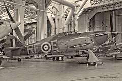 IWM Duxford Hawker Hurricane (amhjp) Tags: iwmduxford iwm duxford hurricane hawkerhurricane battleofbritain raf aircraft airforce aviation blackandwhite blackwhite whiteblack sepia amhjpphotography amhjp nikon nikondslr nikond7000 england english british britain historical historic history heritage museum