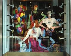 Fiorucci store window East 59th Street (Meredith Jacobson Marciano) Tags: fiorucci storewindow 1978nyc 59thstreet fashion italian italiandesigner eliofiorucci