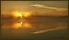 Lake Eerie Revisited (WanaM3) Tags: wanam3 sony a700 sonya700 texas pasadena armandbayou bayou bayareapark park mist goldenglow clouds water reflection canoeing paddling outdoors vist scenic dawn sunrise