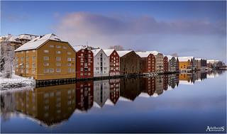 Clear Winter, Trondheim, Norway