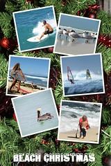 Beach Christmas (PhotoSpills Collages) Tags: photospills collage christmas newyears christmascard newsletter family beach