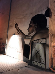THE LIGHT OF CONSCIOUSNESS NEVER GOES (izakilla) Tags: contemporary art estonia graffiti izak one street tartu