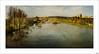 Regando al otoño (V- strom) Tags: paisajes otoño luz río agua texturas textura amarillo verde azul cielo nubes naturaleza sol nikon nikon2470 nikon50mm panorámica