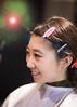Young Japanese girl making up in beauty salon (Apricot Cafe) Tags: img4758 20s asianethnicity canonef85mmf18usm japan japaneseethnicity kimono tokyo beauty beautysalon ceremony culture enjoy hairsalon happiness oneperson peaceful woman youngadult minatoku tōkyōto jp
