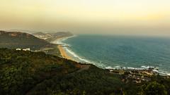 Rushikonda Beach -  Visakhapatnam,  India (Kartik Kumar S) Tags: visakapatnam andhra pradesh india beach kailasgiri canon 600d tokina 1116mm rushikonda