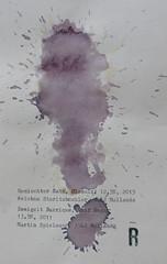 Arbeit 43 (Harald Reichmann) Tags: arbeit43 papier wein weisswein rotwein gemischtersatz kamptal zweigeltbarrique visualisierung verteilung muster kraft energie signatur text information alkohol dynamik r