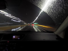 The blur of riding (johnbliss1776) Tags: life x5 pentaxx5 pentax nighttime night blur car shotgun riding