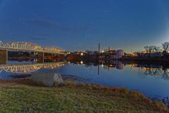 Llano Lake 4 (Largeguy1) Tags: approved llano lake christmaslights bluesky landscape reflections stars canon 5d mark iii sunset