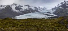 Kviamyrarkambur Glacier in Iceland (Nick L) Tags: kviamyrarkambur kviamyrarkamburglacier ice vatnajökullnationalpark vatnajokullnationalpark iceland glacier canon 5d 5d3 eos 2470li