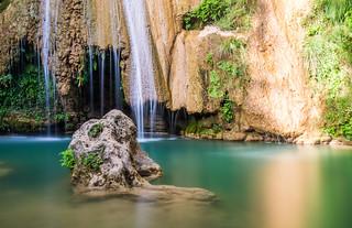 Kalamaris Waterfalls in Schinolakka