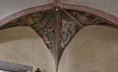 Neustift 13 (WR1965) Tags: italien sdtirol altoadige autonomeprovinzbozen neustift stiftneustift klosterneustift chorherren augustiner kreuzgang fresko deckenfresko sptgotik