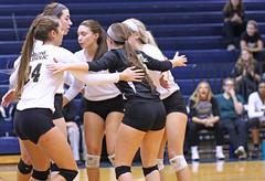 IMG_8337 (SJH Foto) Tags: girls volleyball high school york delone catholic team teen teenager huddle cheer hug