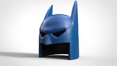 Animated Bat Cowl (CyclopsBricks) Tags: lego custom 3d modeled mold print printing pad uv digital cyclopsbricks bat batman dc marvel comics printer injection art