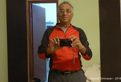 P1110040 On 21-Dec-2016 morning - In Pokhara hotel room - a selfie after a shave, hot-shower and clean clothes! (ks_bluechip) Tags: nepal trel dec2016 annapurna mohare khopra muldhai abc mbc pokhara kathmandu