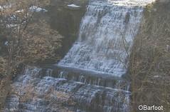 New years waterfall (obarfoot) Tags: waterfalls winter new years escarpment stoney creek