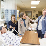 "<b>Nursing Simulation Lab Open House101114_0006</b><br/> Above: A photo from the open house held by the nursing department during the Luther College 2014 Homecoming Celebration. The open house featured new additions to the simulation lab. Photo by Zachary S. Stottler, Luther College '15.<a href=""http://farm6.static.flickr.com/5614/14912459783_2e1ebfbfcc_o.jpg"" title=""High res"">∝</a>"