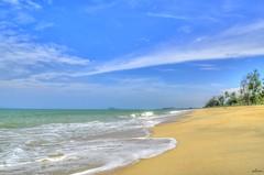 Pantai Tok Bali, Kelantan (abiommacro2) Tags: bridge beach nature clouds landscape nikon scenery kelantan tokbali abiom
