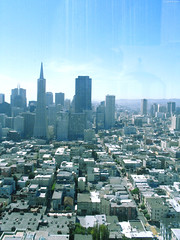 "San Francisco skyline from Coit Tower • <a style=""font-size:0.8em;"" href=""http://www.flickr.com/photos/34843984@N07/14926196063/"" target=""_blank"">View on Flickr</a>"